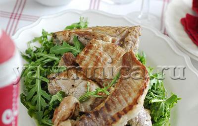 свиные стейки в духовке пошаговые рецепты